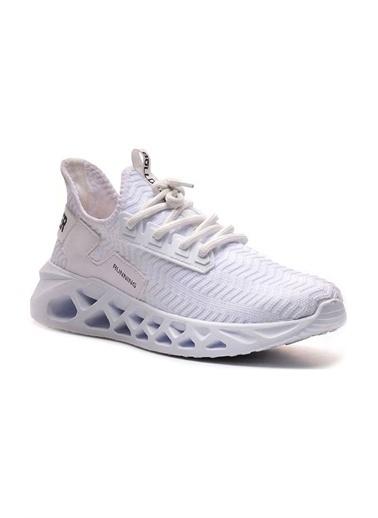 Bulldozer 211417 Erkek Spor Ayakkabı Beyaz